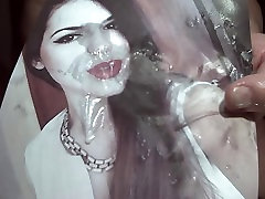 Tribute for therudebuy - huge facial for a very hot girl