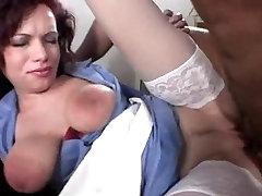 Sexy nurse Saggy tits Big areolas Great tits