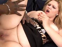 Chubby European Mature Loves Black Cock Deep In Her Ass