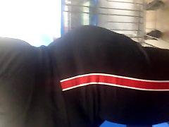 Big booty redbone GILF in track suit 2