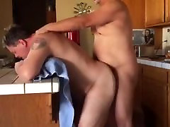 Boo Bangs Daddy Bear In The Kitchen