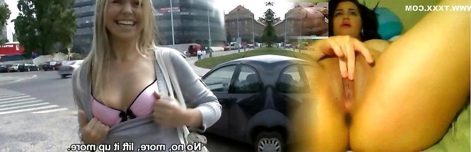 Порно Чешские Улицы Ханка